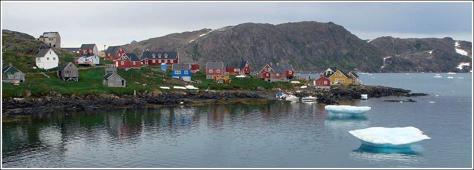 гренландия рыбалка